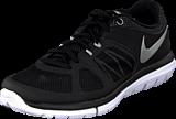 Nike - Nike Flex 2014 Rn Blk/Mtllc Slvr-Lt Mgnt Gry-Whi