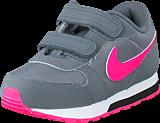 Nike - Nike Md Runner 2 (Tdv) Cool Grey/Hyper Pink-Black