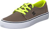 DC Shoes - Dc Kids Trase Tx Shoe Taupe