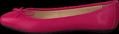 Park West - Leather Ballerina Classic Fuchsia