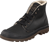 Palladium - Pampa Hi Men Black Pilot Leather S.