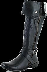 Wildflower - Liana Black Leather