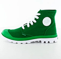 Palladium - Blanc Hi W Green/White