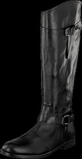Marc O'Polo - Flat Heel Long Boot 990 Black