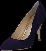 Supertrash - Pump Low Heel Dark Purple