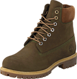 Timberland - 6 In Premium Dark Green Nubuck