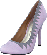 Sugarfree Shoes - Zig Zag Pink