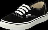 Vans - K Authentic Black/True Whit