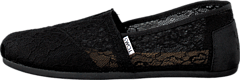 Toms - Seasonal Classic Black Lace