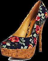 Sugarfree Shoes - Flowery