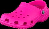 Crocs - Classic Kids Neon Magenta