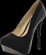 Sugarfree Shoes - Bree Black