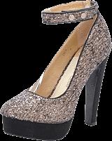Sugarfree Shoes - Luca Black Glitter