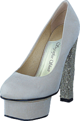 Sugarfree Shoes - Marica Cream / Glitter