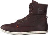 Hub Footwear - Chess Leather/Lumberjack Dark Brown