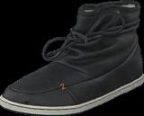 Hub Footwear - Queen Leather/Wool Black