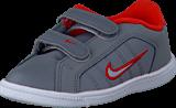 Nike - Court Tradition 2 Plus (Tdv) Cl Grey/Wlf Gry-Lt Crmsn-White