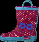 Vincent - Dotty Rasberry Pink