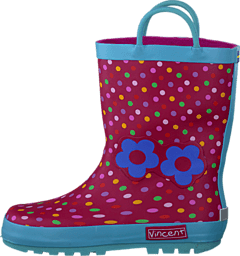 Vincent - Dotty Rasberry Pink