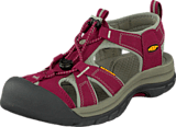 Keen - Venice H2 Beet Red/Neutral Gray