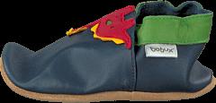 Bobux - Navy Dinosaur Navy