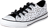Converse - All Star Kids Ox Black/White/Black