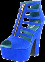 Black Secret - Fanolia Strap Sandal