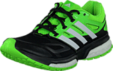 adidas Sport Performance - Response Boost Tech Core Black/White/Solar Green
