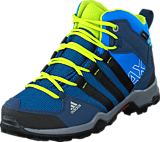 adidas Sport Performance - Ax2 Mid Cp K Shock Blue/Core Black/Slime