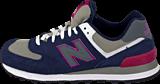 New Balance - WL574SBS Black/Purple
