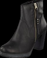 Bianco - Platform Leather Boot Black