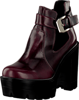 Bianco - Cutout Boot Winered