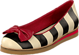 Lola Ramona - 412801-2 Cecilia White/Black Stripes