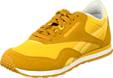 Reebok Classic - Cl Nylon Slim Color Green/Gold/Yellowsensation/Wht