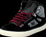 DC Shoes - Spartan High Wc Wnt Shoe Black/Rinse