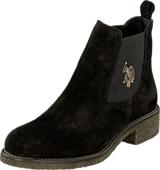 U.S. Polo Assn - Faris 1 Suede Black