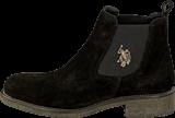 U.S. Polo Assn - Faris 1 Suede Black