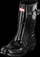 Hunter - Women Original Short Gloss Black