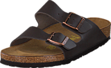 Birkenstock - Arizona Regular Leather Dark Brown
