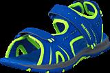 Merrell - Panther Sandal Blue/Citron