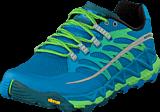Merrell - Allout Peak Racer Blue/Bright Green