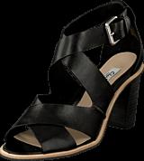Clarks - Oriana Bess Black Leather