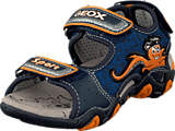 Geox - B Sandal Strike Navy/Orange