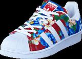 adidas Originals - Superstar W Ftwr White/Ftwr White/Power Re