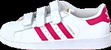 adidas Originals - Superstar Foundation Cf C Ftwr White/Bold Pink
