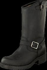 Johnny Bulls - Mid Boot Black/Silver
