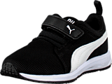Puma - Carson Runner V Kids Black-White