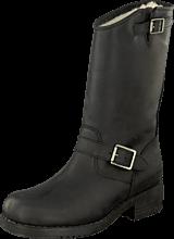 Johnny Bulls - Mid Boot Warm lining Black/Silver