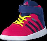 adidas Sport Performance - Jan Bs 2 Mid I Bold Pink/Unity Ink/Ftwr White