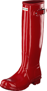 Hunter - Women's Orig Tall Gloss Military Red